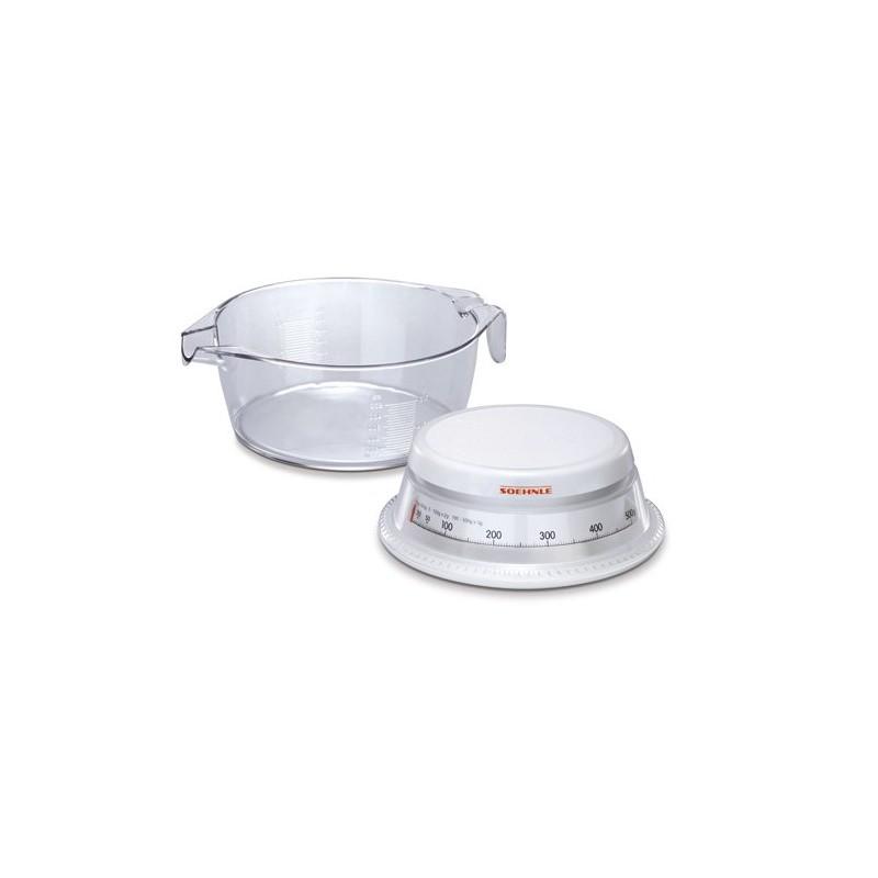 Bascula de cocina soehnle 65418 decasa electrodom sticos for Bascula de precision cocina