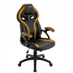 SILLA GAMING - MARS MGC118BY NEGRO/AMARILLO